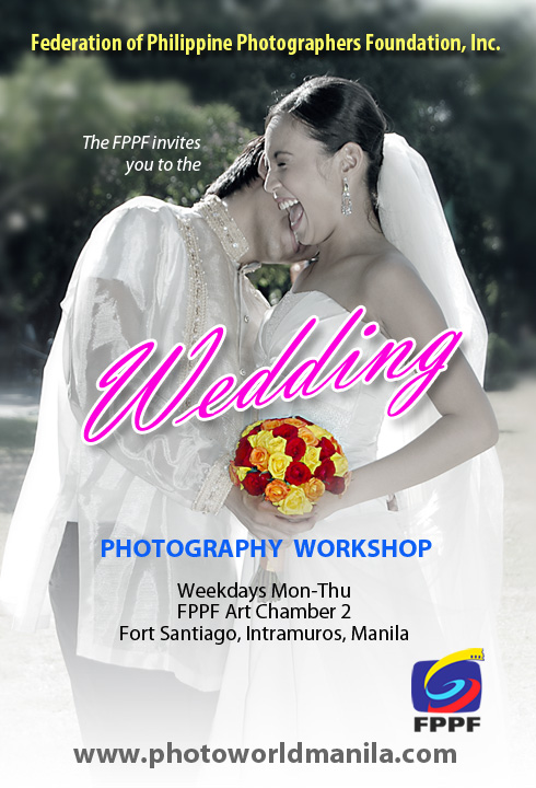 wedding ad FPPF Wedding Photography Workshop